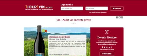 1jour1vin - Meilleur site de vente privee en ligne ...