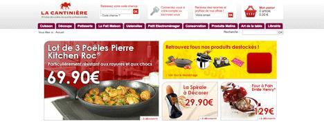 La cantiniere for Boutique materiel cuisine